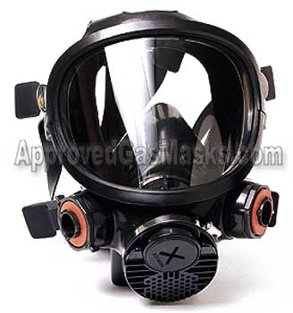 3M 7000 series gas mask respirator 7700 7800 7900