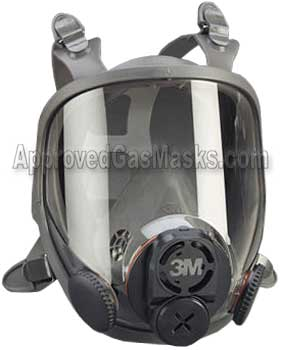 3M 6000 series gas mask respirator 6700 6800 6900