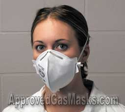 The Affinity mask is comfortable, compact, affordable and effective against many infectious agents
