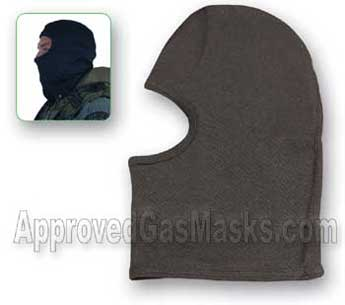 Heavyweight Tactical Kevlar hood - heat and cut resistant
