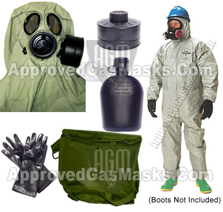 K1 Military Style Gas Mask - Tactical
