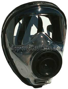 Simple and effectively designed- the SGE 150 gas mask provides complete NBC gas protection
