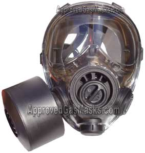 SGE 400/3 NBC Gas Mask is NIOSH approved with an M95 filter for NBC CBA RCA hazards