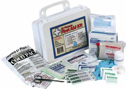 OSHA certified first aid medical kits