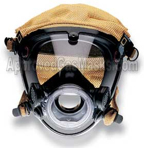 Scott AV3000 AV 3000 gas mask respirator facepiece