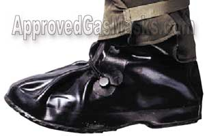 NBC Butyl rubber MK5 MK-5 Overboots, Chemical boots