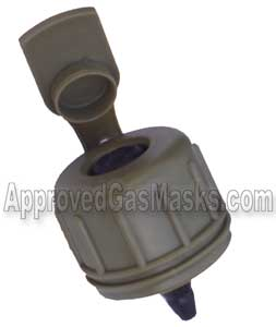 M1 Pressure canteen cap for military standard gas masks