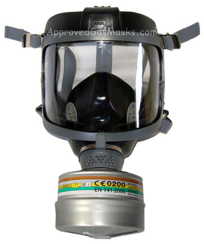 DP (Domestic Preparedness) Gas Mask Kit