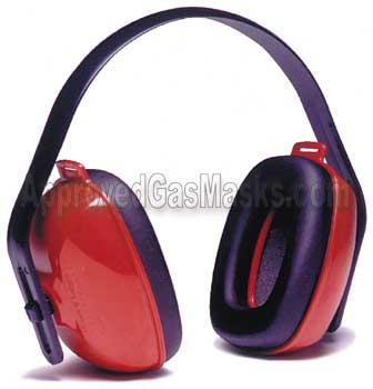Quiet Muff QM-24 earmuffs offer ear hearing protection earmuff