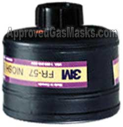 3M FR57 FR 57 NBC Gas mask filter canister