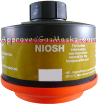 Domestic Preparedness Gas Mask Filter