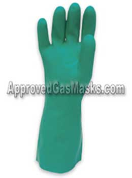 North Nitrile industrial chemical gloves