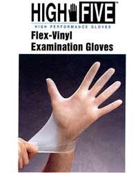 Flex Vinyl Examination gloves