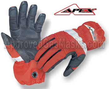 APEX Extrication gloves are designed for disaster response and extreme rescue