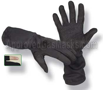 Operator long tactical swat gloves with Novex and Kevlar