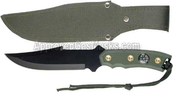 Green beret issue military fixed blade knife