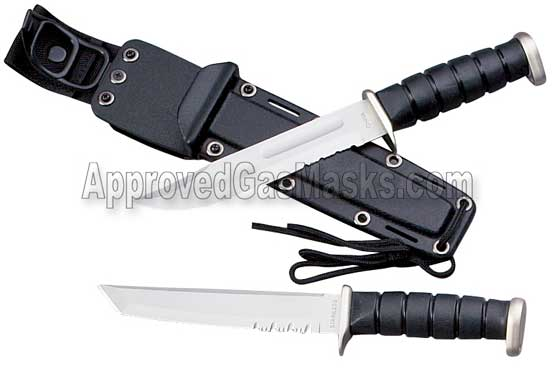 Survival and military assault knife