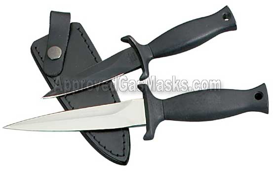 SWAT boot knife - military fixed blade knife