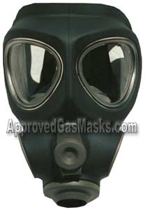 M95 respirator facepiece can be used with the c420 papr or any 40mm gas filter