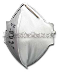 MSA Affinity FR200 FR 200 foldable disposable mask