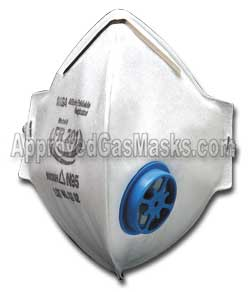 MSA Affinity FR201 foldable disposable mask