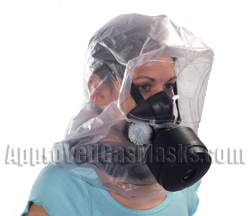 MSA CBRN Safe Escape Responder hood offers many of the same features as a full mask and more!