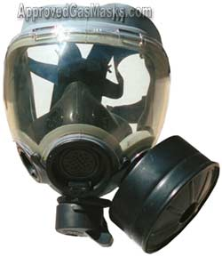MSA Military Issue MCU-2P Gas Mask and Kit