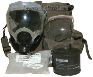 Issued kit includes mask, hard lens, hood and carry/storage bag