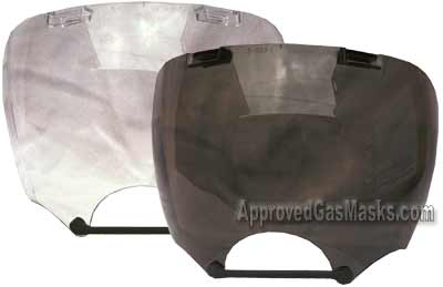 MSA Millennium mask shields for added protection