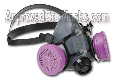 North Half Mask Respirator for particulate, bacteria and virus protection