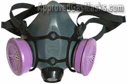 Anthrax - Bacteria - Virus - North Half Mask Respirator