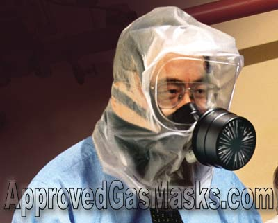 The MSA Response hood offers many of the same features as a full mask and more!