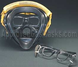 Scott AV2000 AV 2000 respirator gas mask eyeglass holder