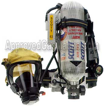 Scott SCBA Compressed Supplied Air Respirator