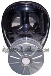 SGE 150 protective NBC gas mask