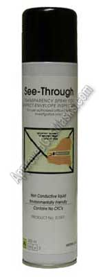 See Through Letter Post inspection spray for mail and mailroom