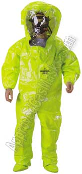 Tychem TK 450 Fully Encapsulated chemical suit