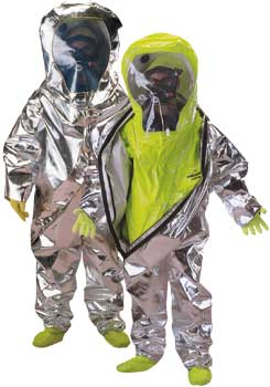 Tychem Level A TK645 TK655 chemical suits