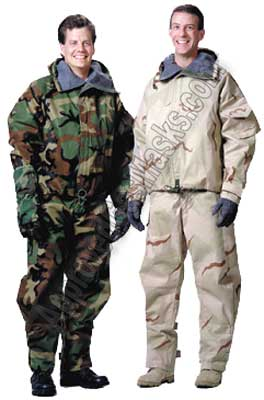 Lanx CPO CHemical Protective Outergarment chemical suit
